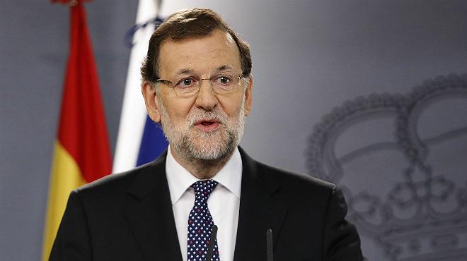 Rajoy responde a la resolución independentista planteada por Junts pel Sí y la CUP en el Parlament.