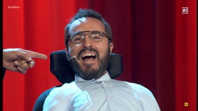 RaúlPérez recreó a Echenique ('Late motiv').