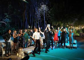 Los chicos de 'OT', en el fin de fiesta de 'OT:el reencuentro' (TVE-1).