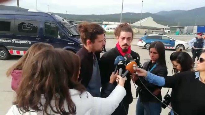 Punxa l'intent independentista de bloquejar la Jonquera