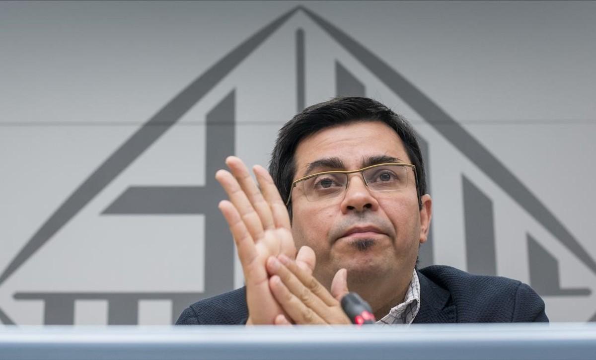 El primer teniente alcalde de Barcelona, Gerardo Pisarello.