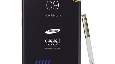 Samsung presenta una edición limitada de Note8 para los Juegos Olímpicos de PyeongChang 2018
