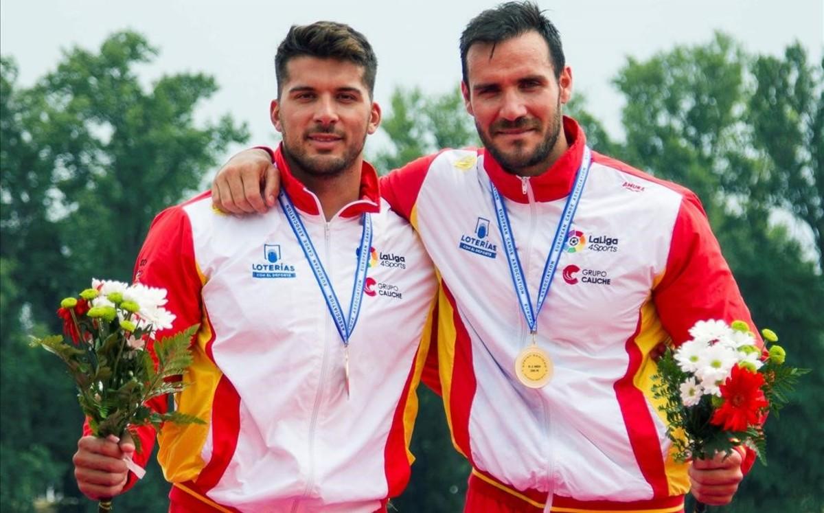 Saúl Craviotto y Cristian Toro, oro en categoría K2 200
