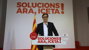 El secretario de organización, Salvador Illa.