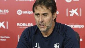 Julen Lopetegui, técnico del Sevilla.