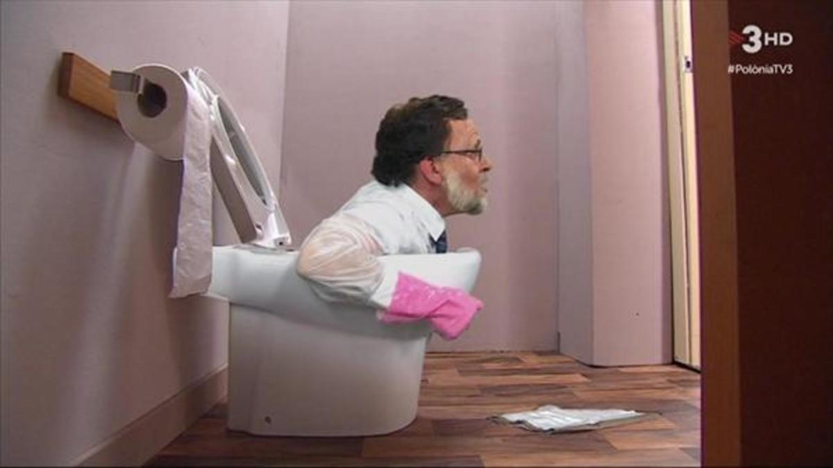 El sketch sobre Rajoy, en Polònia (TV-3).