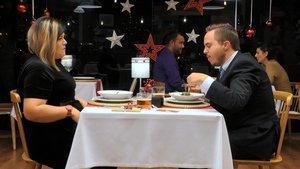 Suhanny y Daniel en 'First Dates'.