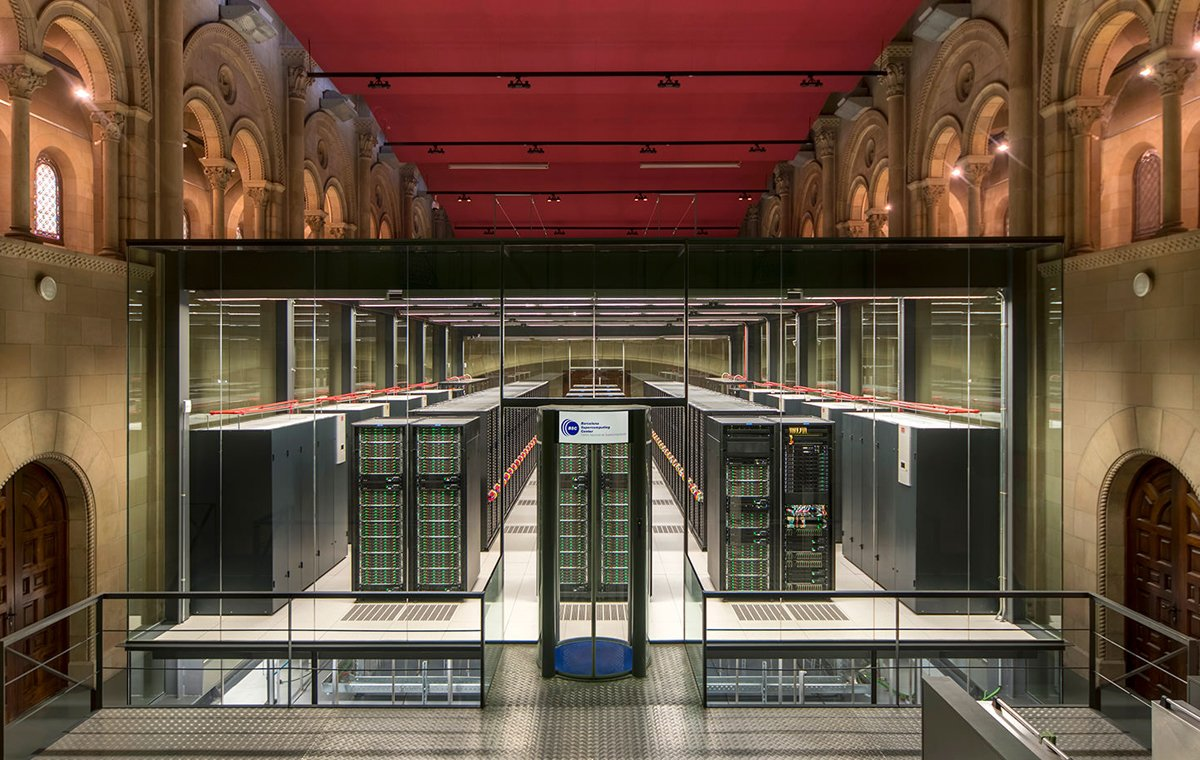 El supercomputador MareNostrum.