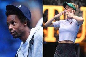 Monfils y Svitolina, nueva pareja en el mundo del tenis.