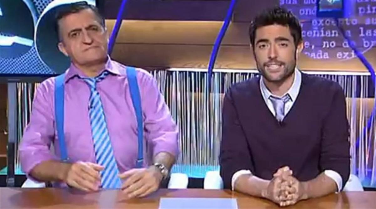 Wyoming y Dani Mateo, en el programa de humor de La Sexta El intermedio.