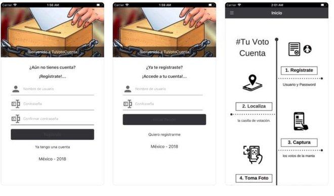 TuVotoCuenta, una 'app' para verificar los resultados electorales