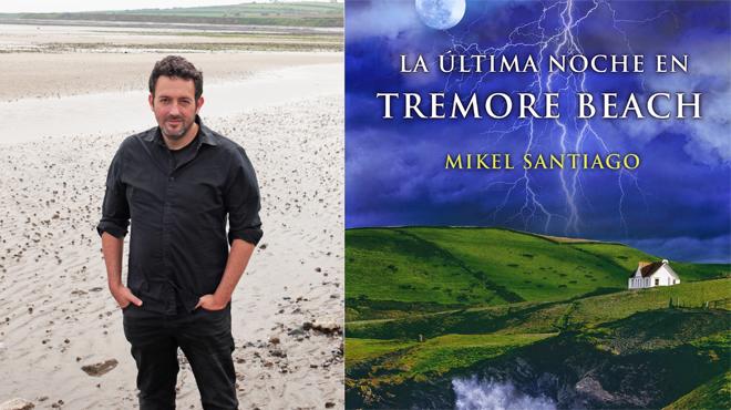 La última noche en Tremore beach booktráiler de Mikel Santiago