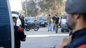 Els Mossos busquen el cos d'un home en una nau abandonada a Argentona