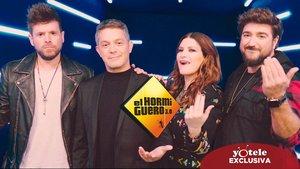 Alejandro Sanz, Laura Pausini, Pablo López i Antonio Orozco, convidats dijous vinent a 'El hormiguero'
