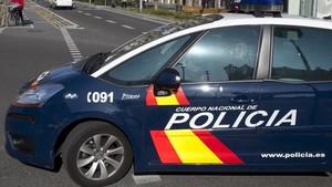 Un vehículode la Policía Nacional, en una imagen de archivo.
