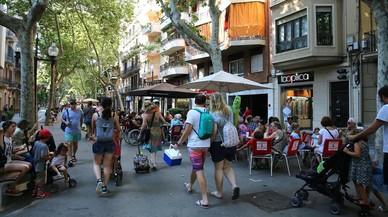Calles vivas en los barrios, calles muertas en la nueva Barcelona