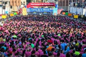 GALERIA | Anguera i Barrachina s'imposen als favorits de la 41a Cursa de la Mercè de Barcelona