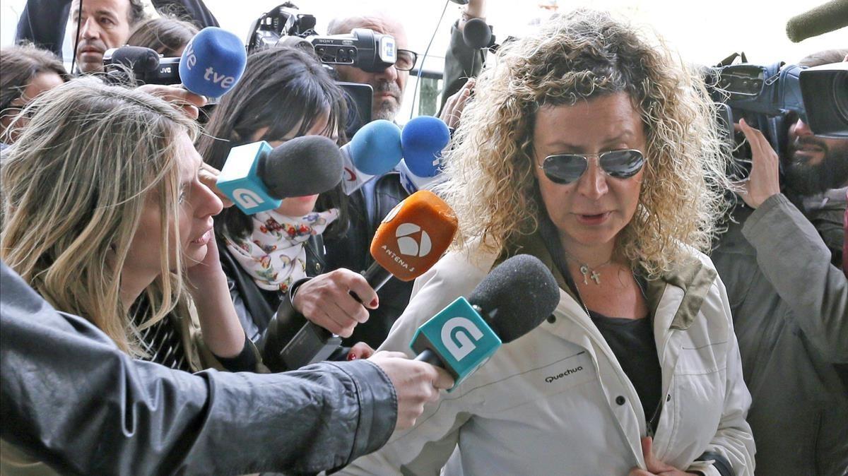 Diana Lopez-Pinel,la madre de Diana Quer.