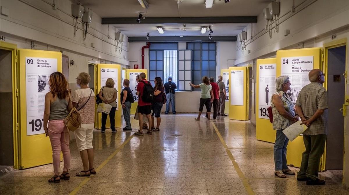 Exposición La Modelo nos habla. 113 años. 13 historias, que se puede visitar hasta el 26 de noviembre.