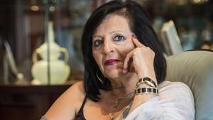 Pilar Abel, en una imagen tomada el 25 de julio del 2017.