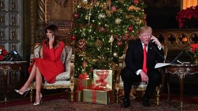 Trump ha pasado fuera de la Casa Blanca 111 de los 340 días que lleva como presidente