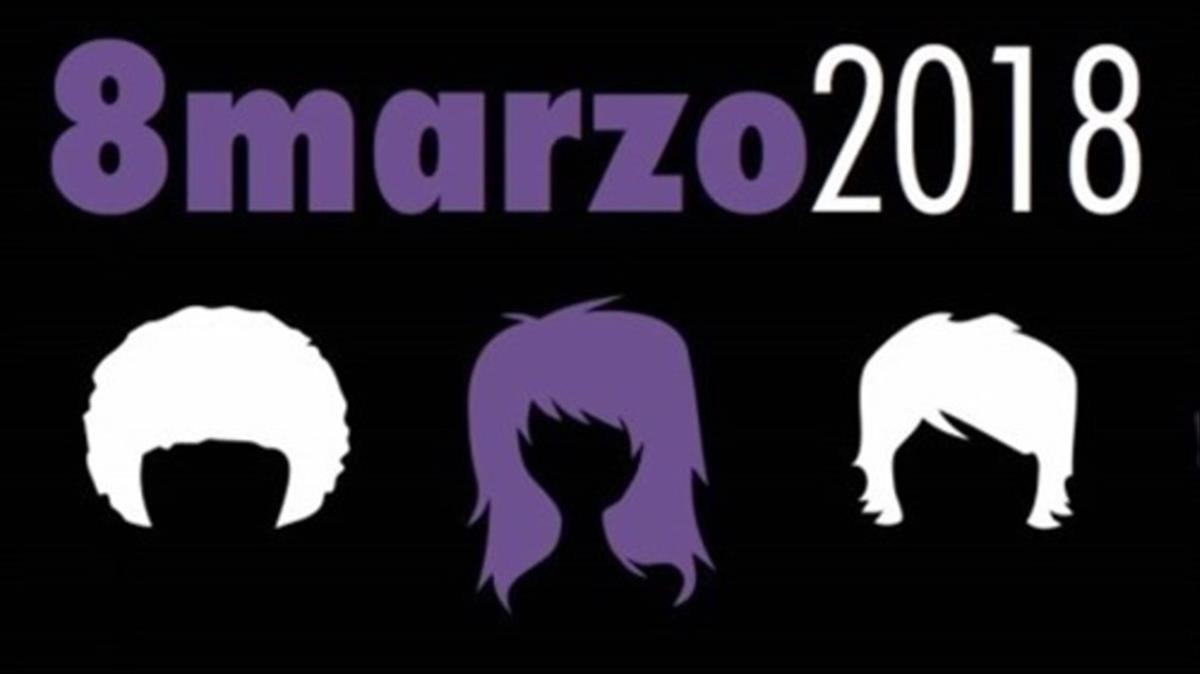 Cartel Hacia la Huelga feministapara el8 de marzo 2018