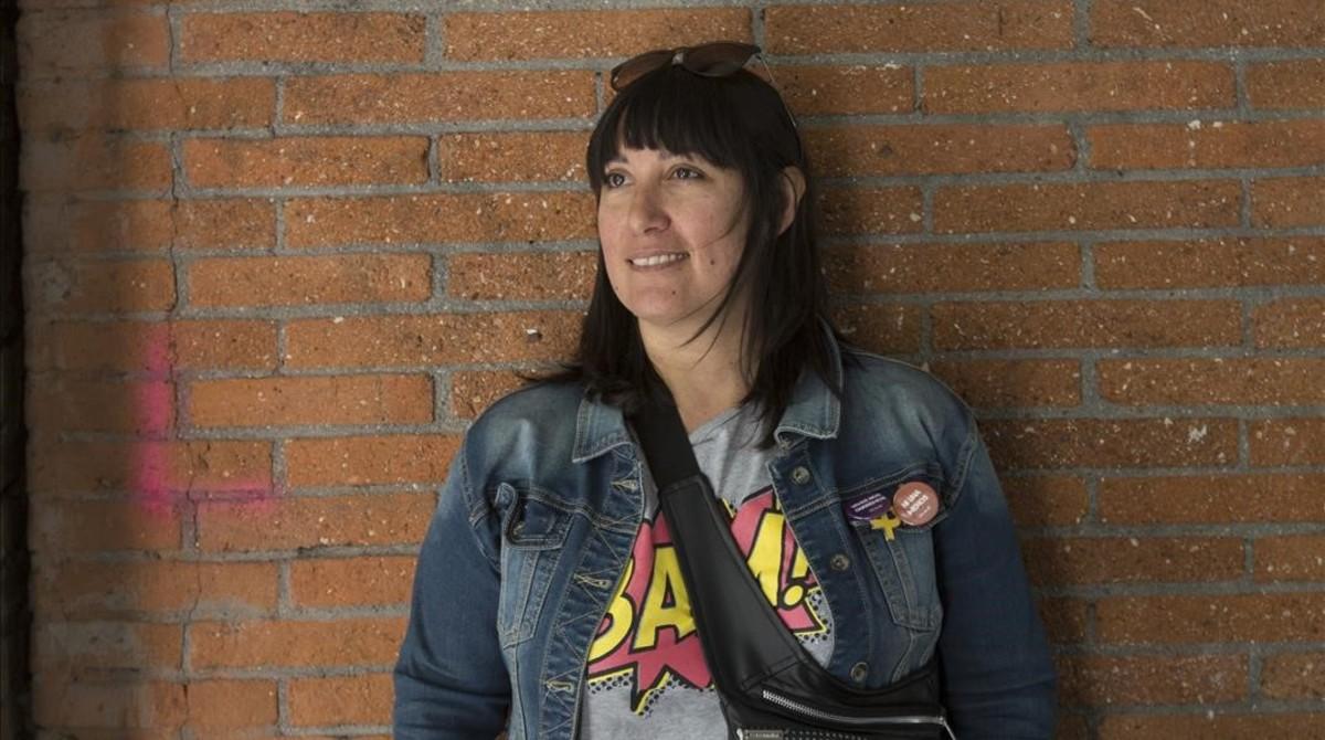 Noelia Ceroni, este jueves en Barcelona.