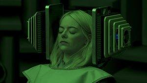 Emma Stone, a punto de adentrarse en un profundo sueño de destino incierto.