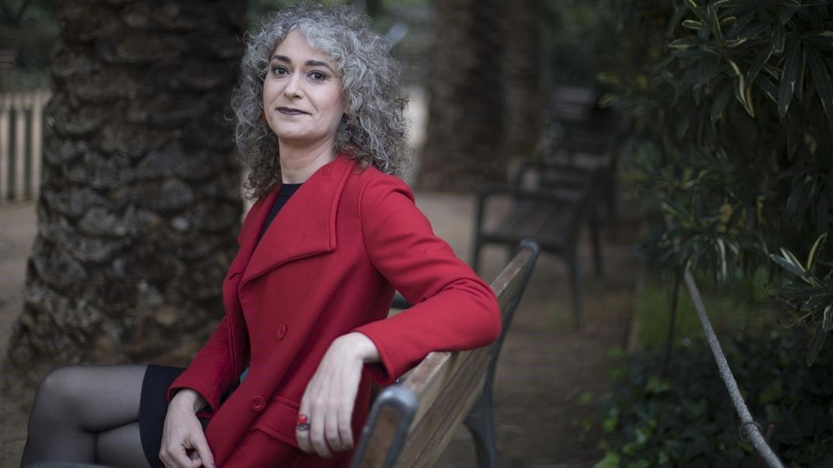 Sandra Fernández, en Barcelona.