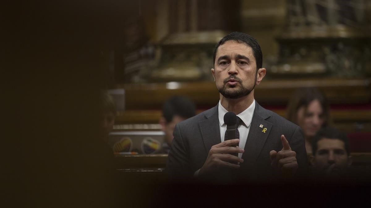 Damià Calvet: «L'escenari desitjable són eleccions després de l'estiu»