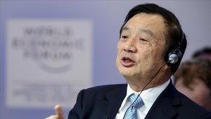 El fundador de Huawei, RenZhengfei.