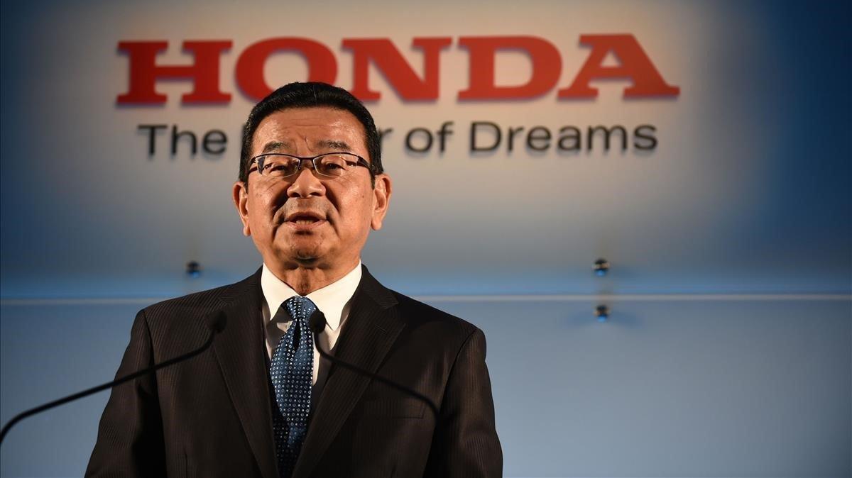 Takahiro Hachigo, CEO de Homda.