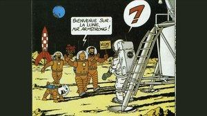 Hergé, el Kennedy belga; Tintín, l'Armstrong insensat