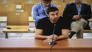 Gabi Fernández, en su declaración como acusado en el juicio por el presunto amaño del Levante-Zaragoza de 2011
