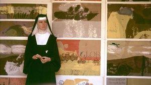 La monja Corita Kent, en una foto de la década de los 60.