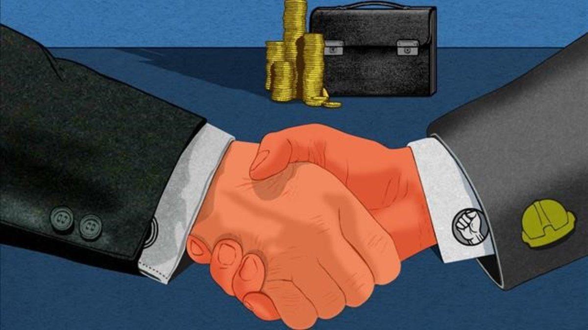Salario mínimo, ¿el mensaje es el pacto?