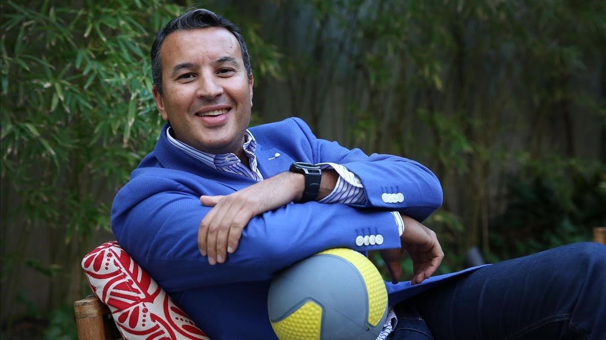 Othmane Mouhssine, representante en España de Digi-Sports Barcelona.