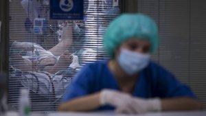 Servicio de medicina intensiva del hospital Vall d'Hebron.
