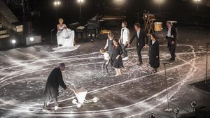 Un momento de 'A tocar!', el espectáculo inaugural del Festival Grec.