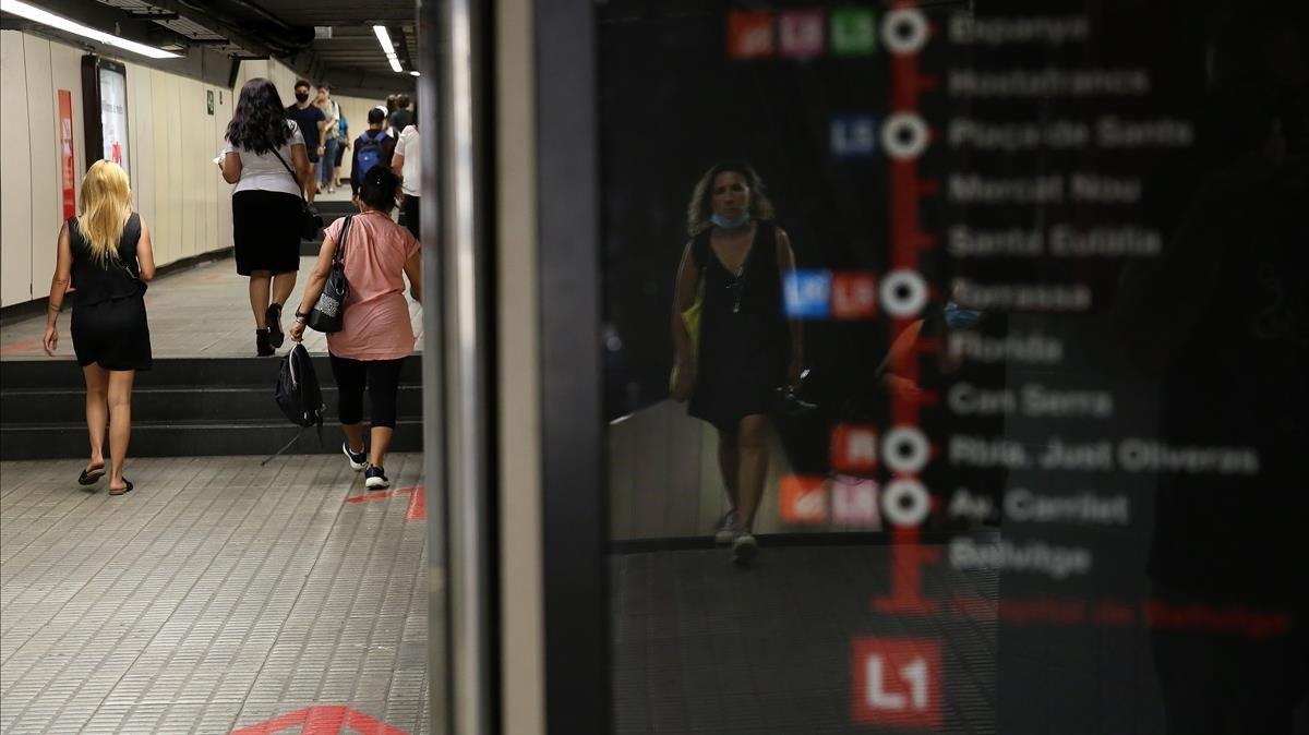 El metro enfadat