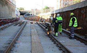 Els primers trens passaran per la nova estació de l'AVE a la Sagrera el 9 de desembre