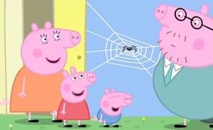 Capítol de Peppa Pig sobre les aranyes