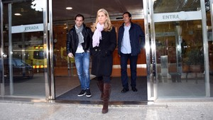 Arantxa Sánchez Vicario y su exmarido Josep Santacana, en febrero del 2016.