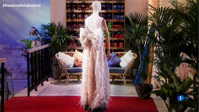 El vestido de noche que convirtió a Alicia en ganadora de 'Maestros de la costura'