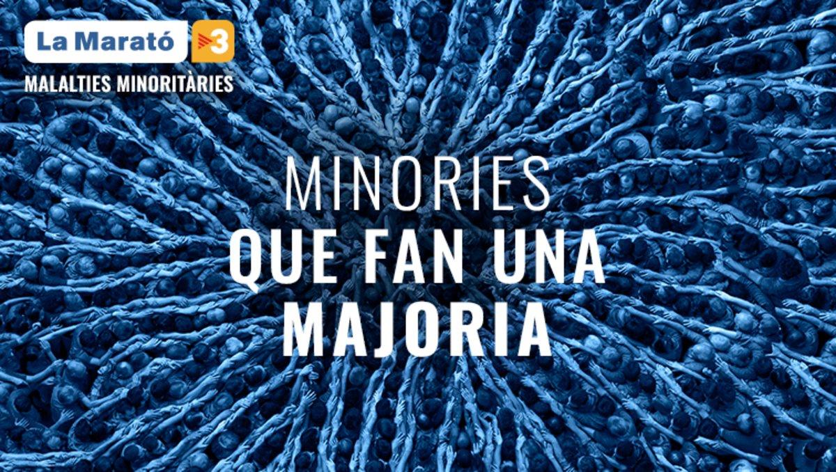 La Marató de TV3 destinará los recursos a la investigación de las enfermedades minoritarias.