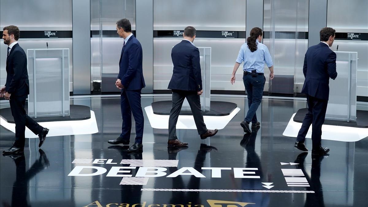 Els millors moments del debat, en vídeo
