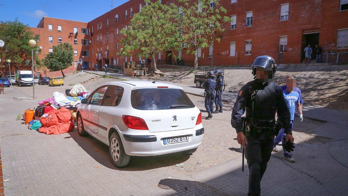 Barriada de los Colorines, en Badajoz.