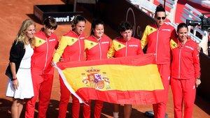 Carla Suárez certifica la classificació d'Espanya per a la final de la Copa Federació