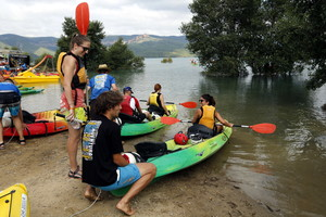 Actividades en Canelles, en el Congost de Mont-Rebei.