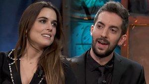 David Broncano y Adriana Ugarte en 'La Resistencia'.